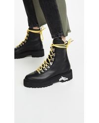 Off-White c/o Virgil Abloh Hiking Boots - Black