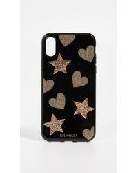 Iphoria - Glitter Heart & Star Iphone X Case - Lyst