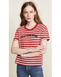 Madewell - Stripe Ciao For Now Tee - Lyst