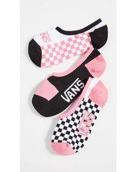 Vans Half N Half Canoodles 3 Pack - Pink