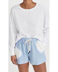 Stateside Sweatshirt Tee - White