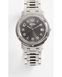 What Goes Around Comes Around - 29mm Hermes Clipper Gm Watch - Lyst