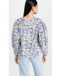 MILLE Lila Top - Blue