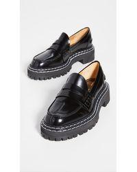 Proenza Schouler Lug Sole Loafers - Black