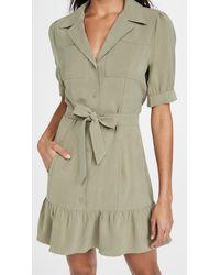 PAIGE Mayslie Dress - Green