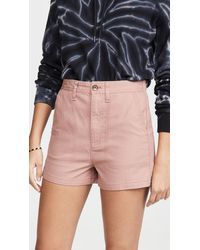 Madewell Camp Shorts - Pink