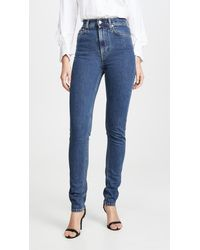 Helmut Lang Femme Hi Spikes Jeans - Blue