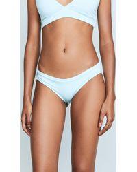 Maaji - Crystal Blue Subline Reversible Bikini Bottoms - Lyst