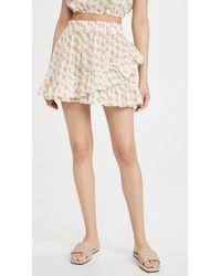 Eberjey Palapas Lidia Skirt - White