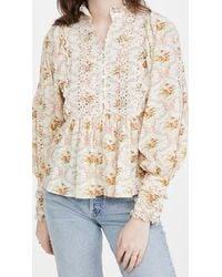 byTiMo Victorian Blouse - Multicolour