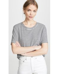 Splendid Cass Crop Tee - White