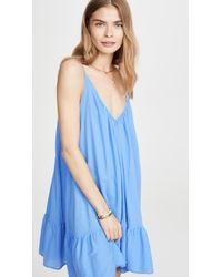 9seed St. Tropez Mini Dress - Blue