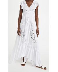 Tiare Hawaii Krawang Kimono Dress - White