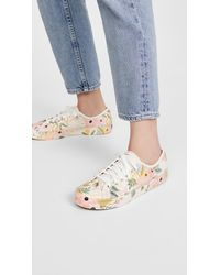 Keds X Rifle Paper Co Kickstart Garden Party Sneakers - Pink