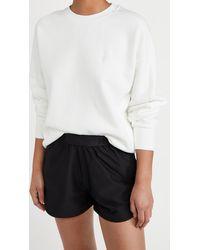 Sweaty Betty Essentials Sweatshirt - White