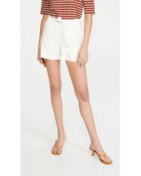 Veronica Beard Borneo Shorts - White