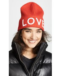 Tory Sport Merino Love Beanie - Red