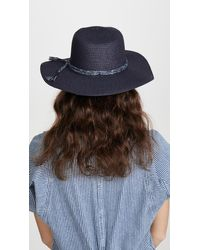 Madewell Packable Mesa Straw Hat - Multicolour