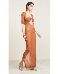 Jacquemus Long Piana Dress - Multicolor