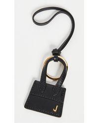 Jacquemus Mini Chiquito Keyring - Black