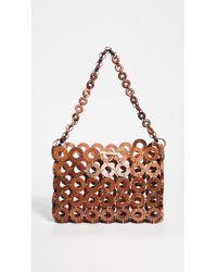 Cult Gaia Brown Jasmin Shoulder Bag