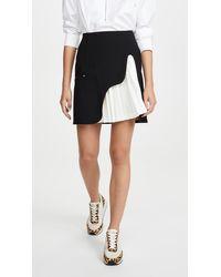 Toga Tricot Bonding Skirt - Black