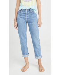 RE/DONE - 90s Loose Straight Jeans - Lyst