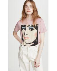 COACH Barbra Streisand T-shirt - Pink