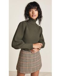 English Factory - Turtleneck Ribbed Jumper - Lyst