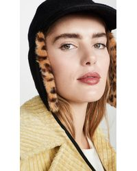 Hat Attack Faux Fur Trapper Hat - Multicolour