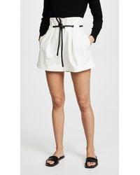 3.1 Phillip Lim Origami Pleated Shorts - White
