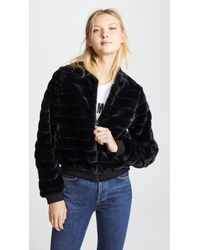 Line & Dot - Aspen Faux Fur Jacket - Lyst