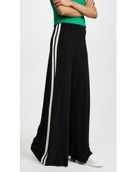 Norma Kamali - Side Stripe Elephant Trousers - Lyst