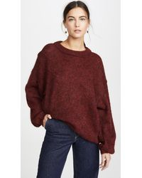 Free People Angellic Jumper - Red