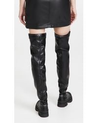 Philosophy Di Lorenzo Serafini Over-the-knee Boots With Buckle - Black