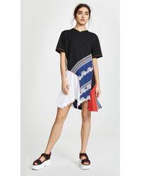 Koche T-shirt Dress - Black