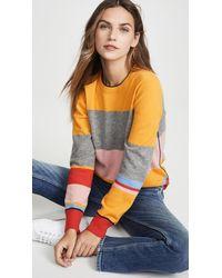 Tory Burch Colorblock Cashmere Pullover - Multicolour