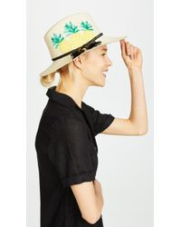 Kate Spade - Pineapple Trilby Hat - Lyst