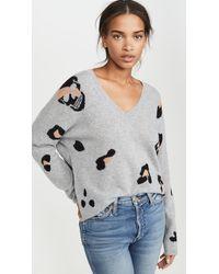 360 Sweater Heidi Cashmere Sweater - Gray
