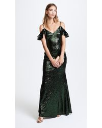 THEIA - Scarlet Sequin Gown - Lyst