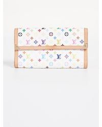 What Goes Around Comes Around - Louis Vuitton Multicolore International Wallet - Lyst