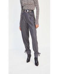 Isabel Marant Racomi Trousers - Grey