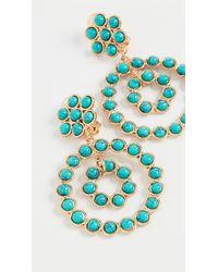 Sylvia Toledano Flower Candies Earrings - Blue