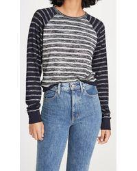 Rag & Bone - The Knit Striped Pullover - Lyst