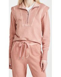 Veronica Beard Dylan Sweatshirt - Pink
