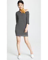 Splendid - Super Soft Neptune Stripe Dress - Lyst