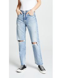 Moussy - Mv Odessa Wide Straight Jeans - Lyst