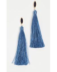 Gorjana - Palisades Tassel Earrings - Lyst