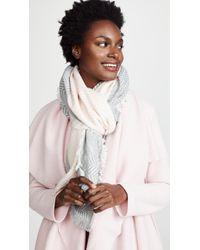 Rebecca Minkoff Chevron Oblong Scarf - Pink