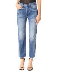 3x1 Shelter Austin Crop Jeans - Blue